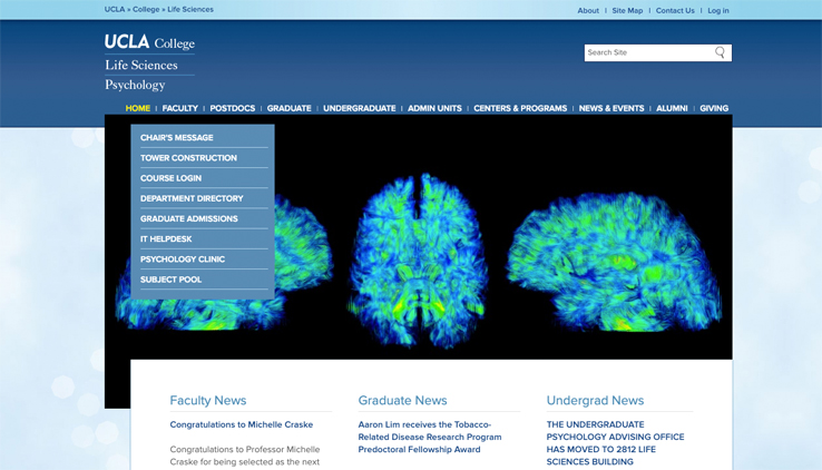 UCLA Psychology Home Page